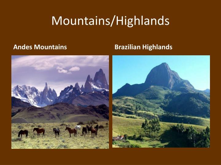 Mountains highlands1