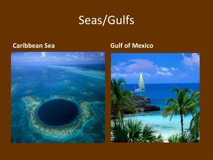 Seas/Gulfs