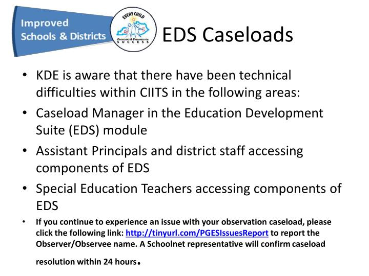 EDS Caseloads