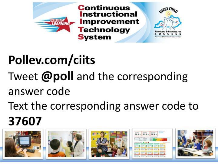 Pollev.com/ciits