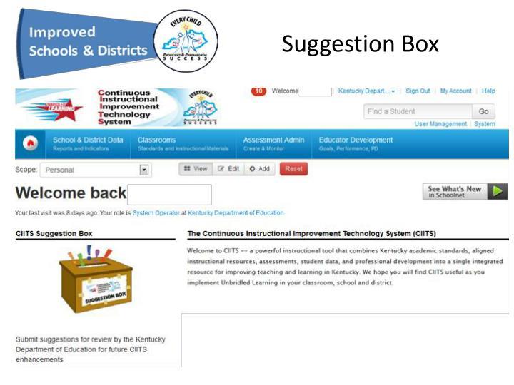 Suggestion Box