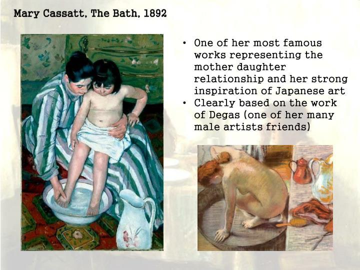 Mary Cassatt, The Bath, 1892