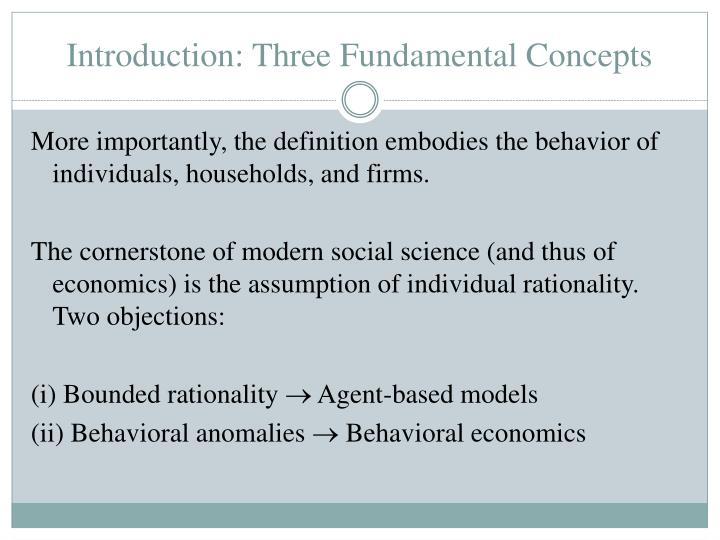 Introduction three fundamental concepts1