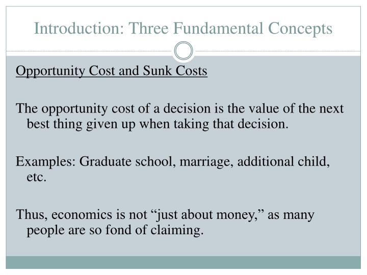 Introduction: Three Fundamental