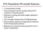 efv population pk model features