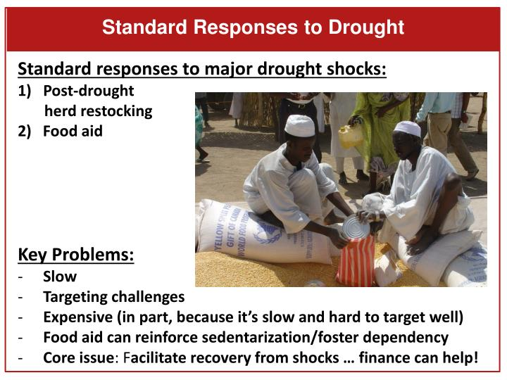 Standard Responses to Drought