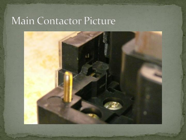 Main Contactor Picture