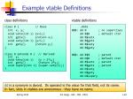 example vtable definitions
