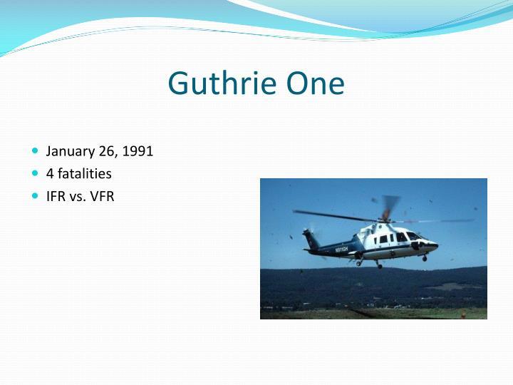 Guthrie one