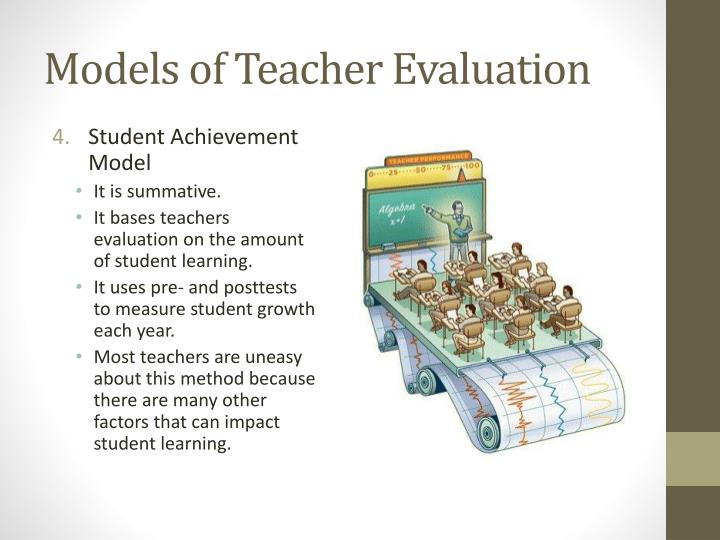 Models of Teacher Evaluation