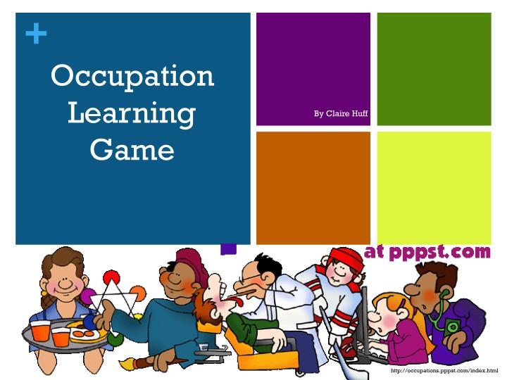occupation learning game n.