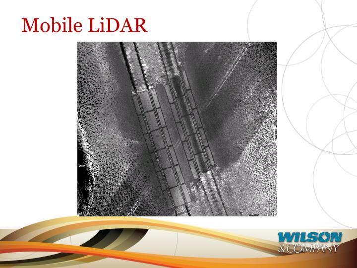 Mobile LiDAR