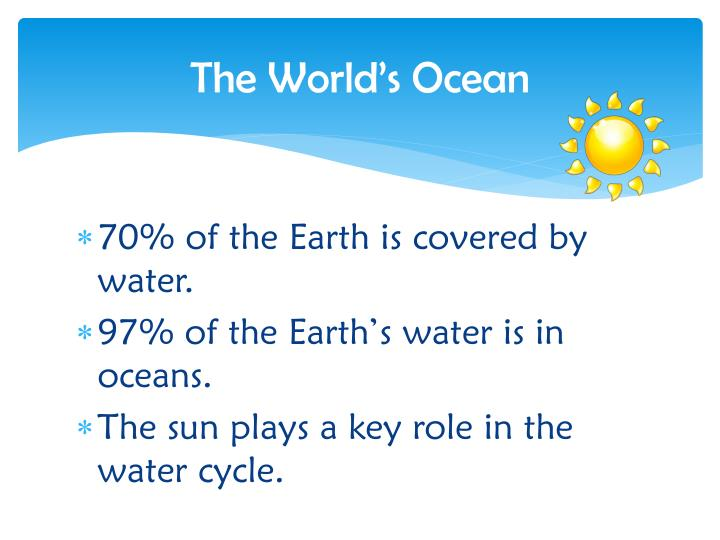 The World's Ocean