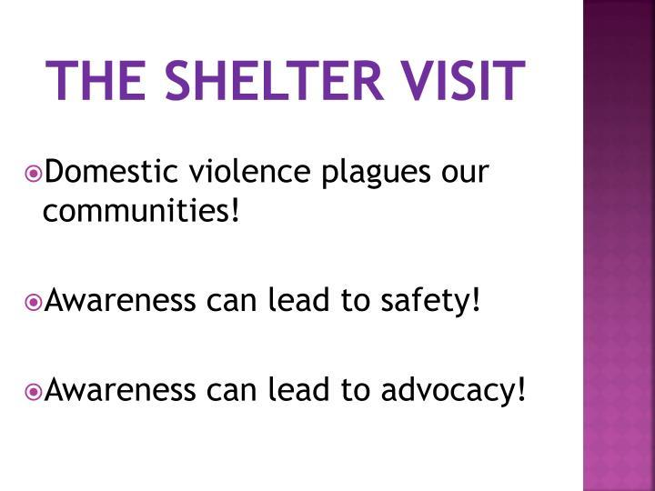 The shelter visit
