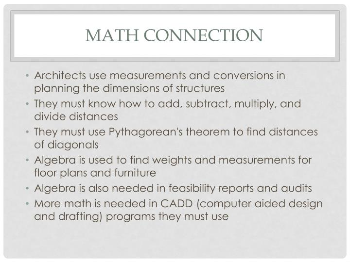 Math connection