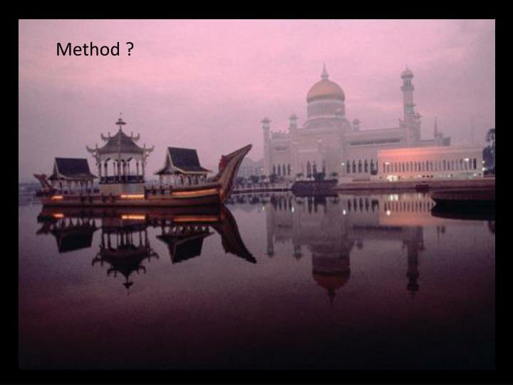 Method ?