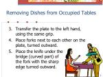 removing dishes from occupied tables2
