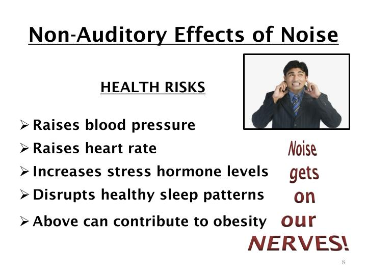Non-Auditory Effects of Noise