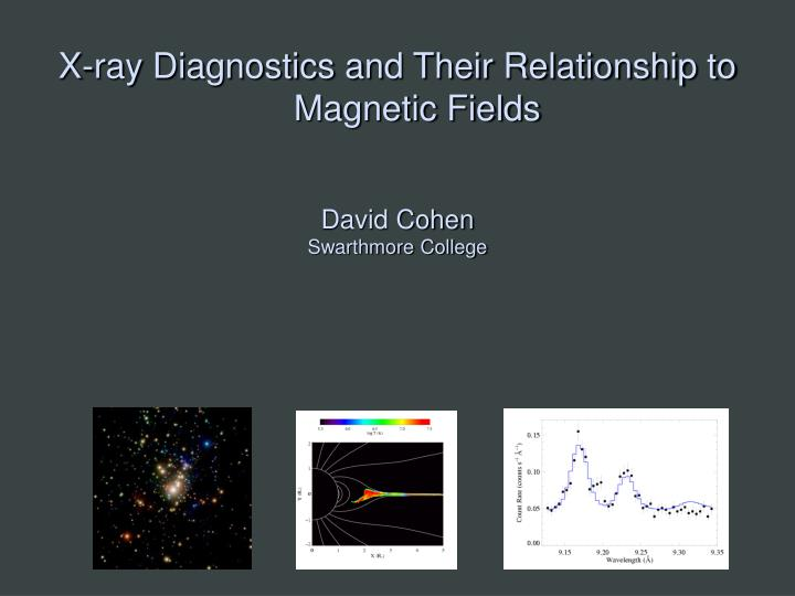 X-ray Diagnostics and Their Relationship to Magnetic Fields