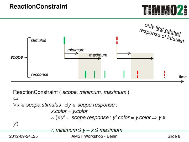 ReactionConstraint