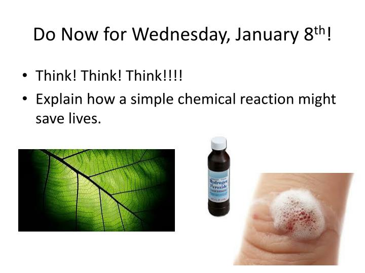 Do now for wednesday january 8 th