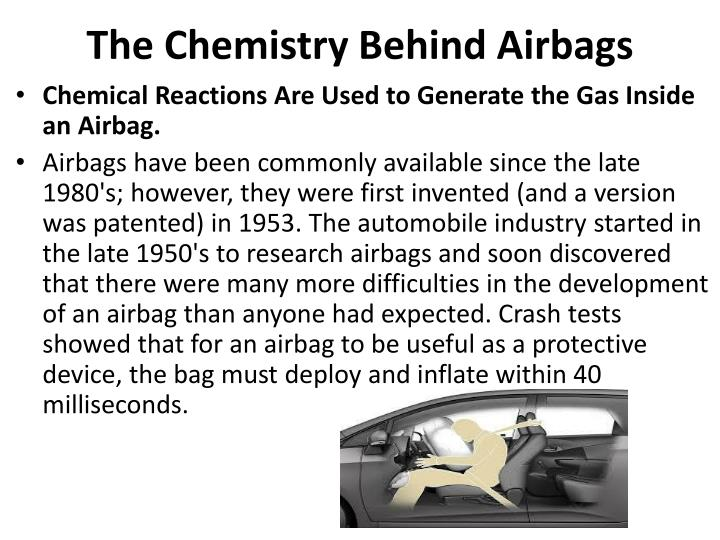 The Chemistry Behind Airbags