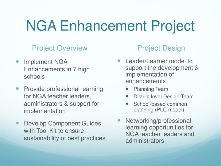 NGA Enhancement Project