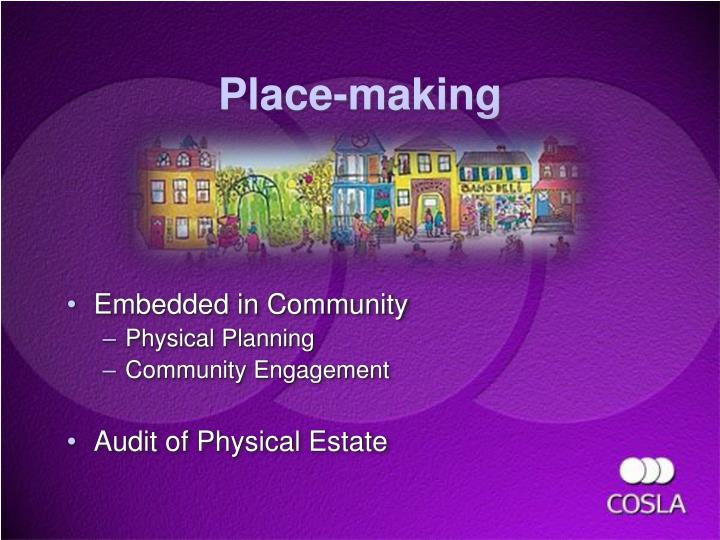 Place-making