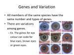 genes and variation1