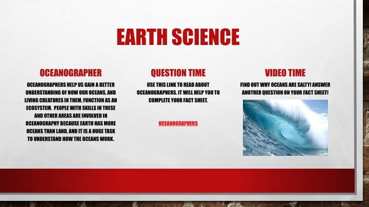 Earth science1