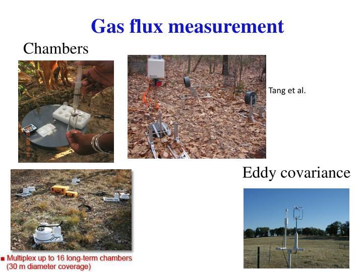 Gas flux measurement