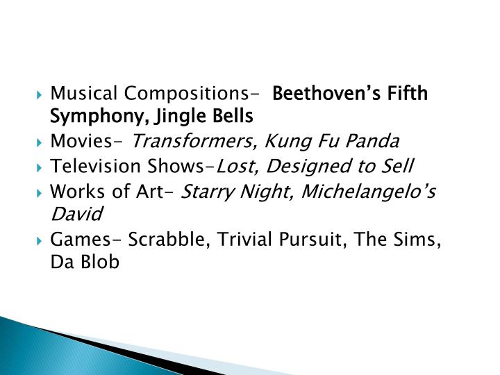 Musical Compositions-