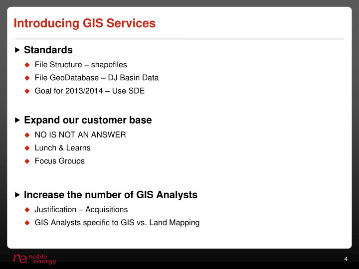 Introducing GIS Services