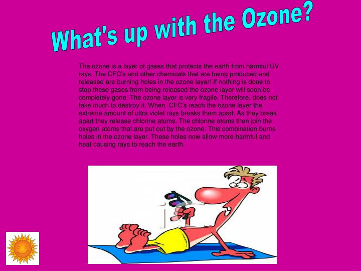 What's up with the Ozone?