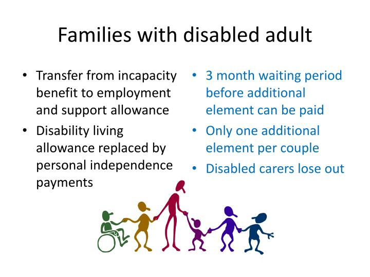 Families with disabled adult