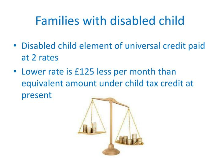 Families with disabled child