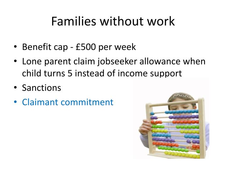 Families without work