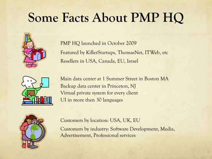 Some Facts About PMP HQ