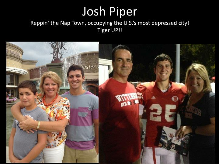 josh piper reppin the nap town occupying the u s s most depressed city tiger up