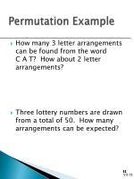 permutation example