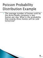 poisson probability distribution example