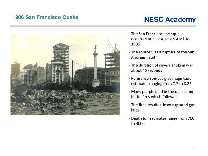 1906 San Francisco Quake