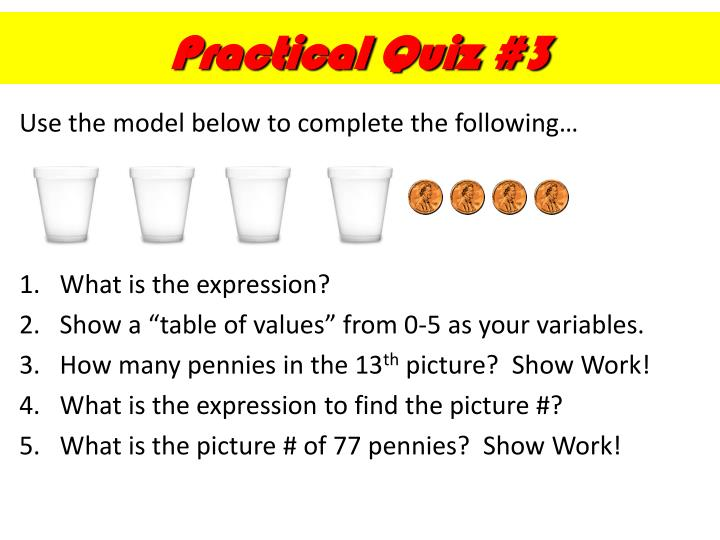 Practical Quiz #3