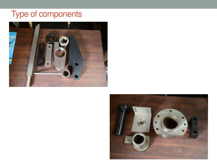 Type of components