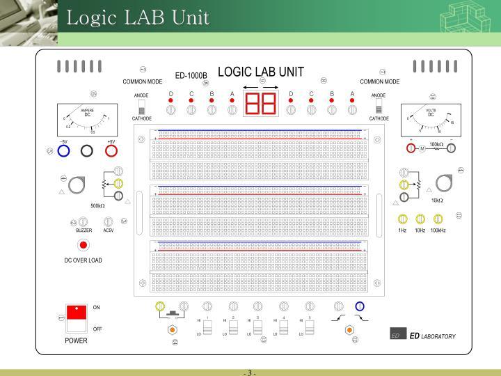 Logic LAB Unit