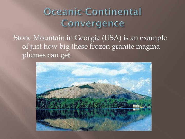 Oceanic-Continental Convergence