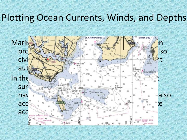 Plotting Ocean Currents, Winds, and Depths