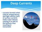deep currents