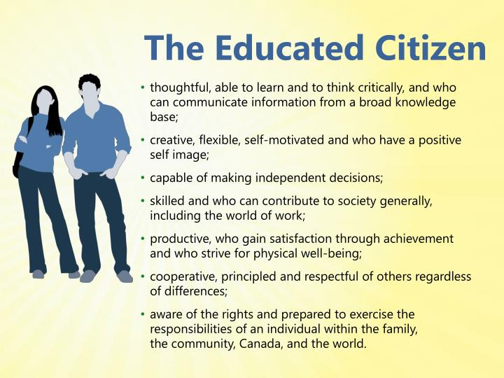 The Educated Citizen