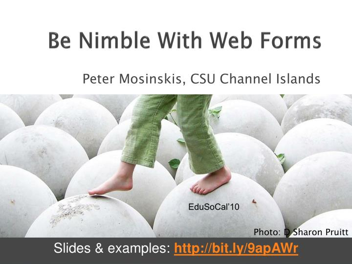 be nimble with web forms n.